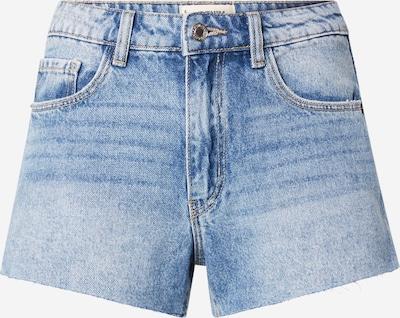 Jeans Tally Weijl pe albastru denim, Vizualizare produs