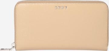 DKNY Geldbörse 'Bryant' in Beige