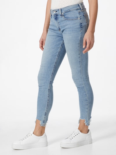rag & bone Jeans 'Cate' in blue denim, View model