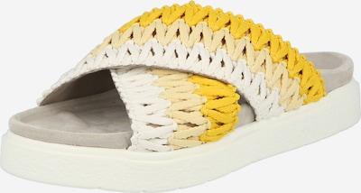 INUIKII Pantolette in beige / gelb / weiß, Produktansicht