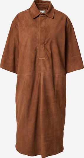 SECOND FEMALE Kleid 'Hue' in karamell, Produktansicht