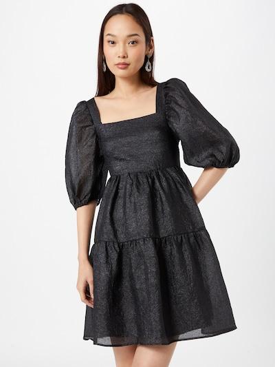Gina Tricot Kleid 'Duva' in schwarz, Modelansicht