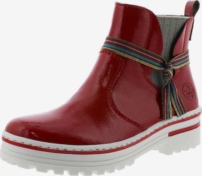 RIEKER Къси ботуши в червено, Преглед на продукта