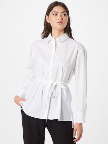 HUGO Bluse 'Eveyla' in Weiß