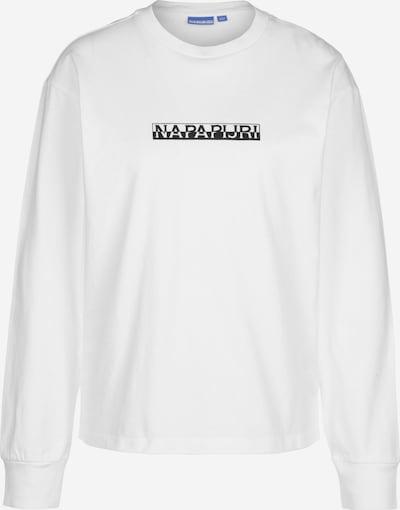 NAPAPIJRI Sweatshirt ' S-Box ' in weiß, Produktansicht
