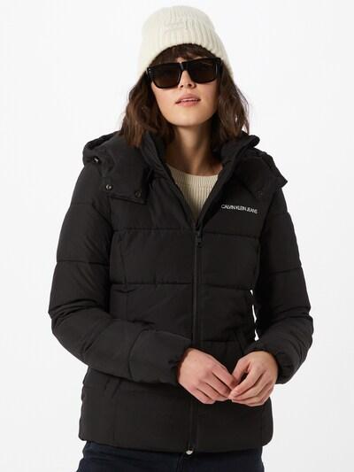 Calvin Klein Jeans Winterjacke in navy: Frontalansicht