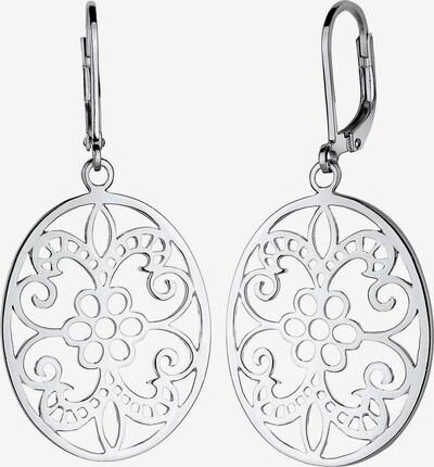 ELLI Ohrringe 'Ornament' in silber, Produktansicht