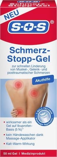 SOS Fußgel 'Schmerz-Stopp-Gel' in transparent, Produktansicht