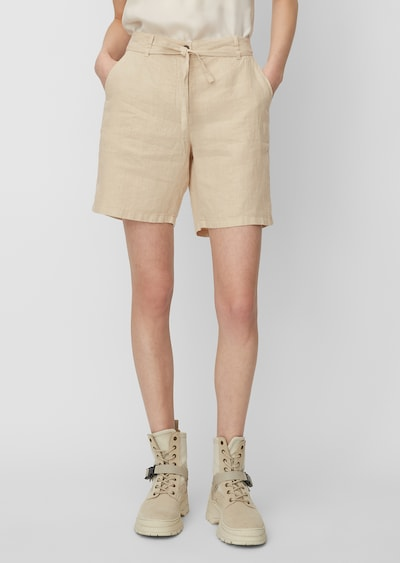 Marc O'Polo Shorts in beige, Modelansicht