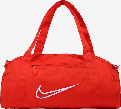 NIKE Športna torba 'Gym Club' | rdeča / bela barva, Prikaz izdelka