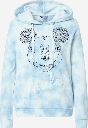 PRINCESS GOES HOLLYWOOD Μπλούζα φούτερ σε γαλάζιο / μαύρο / λευκό, Άποψη προϊόντος