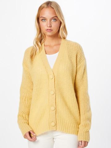 PULZ Jeans Kampsun 'IRIS', värv kollane