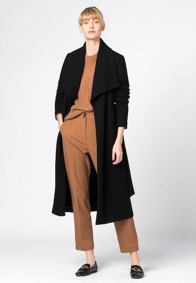 HALLHUBER Mantel in schwarz, Modelansicht