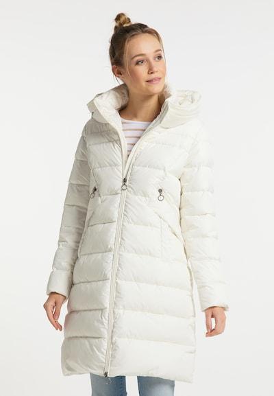 DreiMaster Maritim Mantel in weiß, Modelansicht