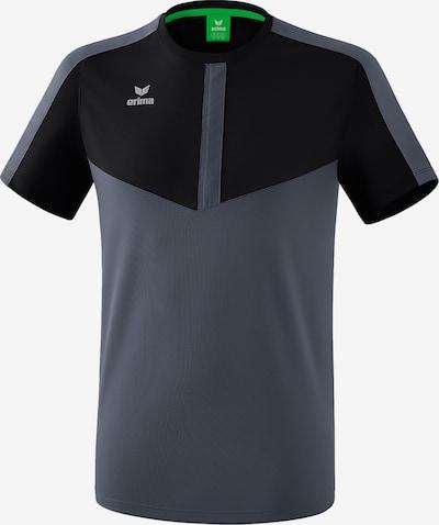 ERIMA T-Shirt in grau / schwarz, Produktansicht