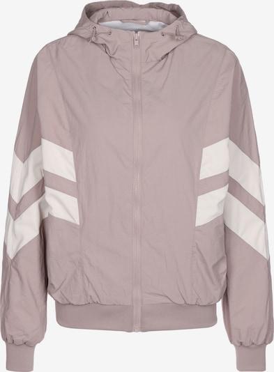 Urban Classics Přechodná bunda 'Crinkle Batwing' - pink / bílá, Produkt