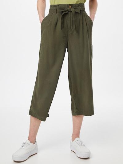 ONLY Pantalon 'Aminta-Aris' en kaki, Vue avec modèle
