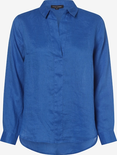 Franco Callegari Bluse in royalblau, Produktansicht