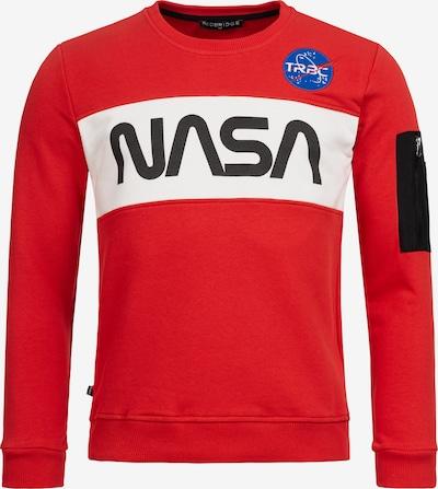 Redbridge Pullover McKinney NASA Print & Patches in rot: Frontalansicht