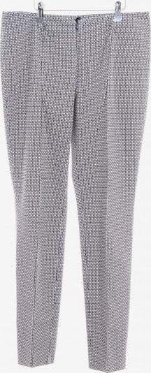 Steilmann Stoffhose in L in schwarz / weiß, Produktansicht