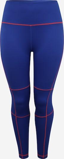 REEBOK Sportovní kalhoty - kobaltová modř / světle červená, Produkt