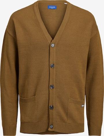 Vestes en maille 'James' JACK & JONES en marron