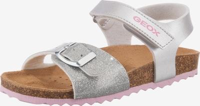GEOX Sandale 'Adriel' in rosa / silber, Produktansicht