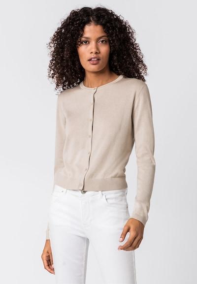HALLHUBER Basic-Cardigan in beige, Modelansicht