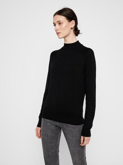 Megztinis 'Sera' iš PIECES , spalva - juoda, Modelio vaizdas