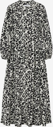 MANGO Blusenkleid 'Cherry' in schwarz / weiß, Produktansicht