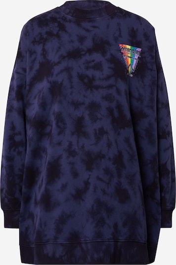 WRANGLER Sweatshirt in blau / navy / mischfarben, Produktansicht
