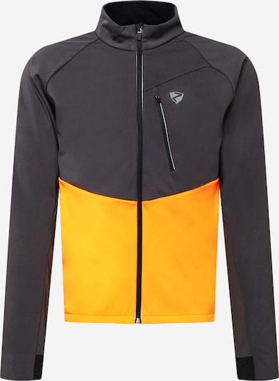 ZIENER Sportjacke 'Nabucco' in grau / orange, Produktansicht