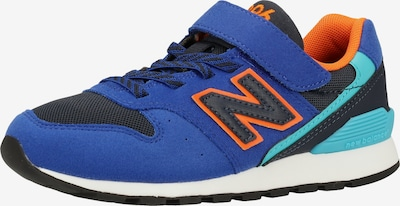 new balance Sneaker in blau / hellblau / orange, Produktansicht
