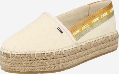 Tommy Jeans Espadrilles in creme / hellbraun / gelb / weiß, Produktansicht