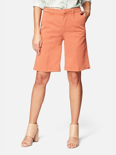 Mavi Shorts 'Alexia' in orange, Modelansicht