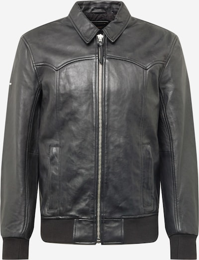 Superdry Tussenjas in de kleur Zwart, Productweergave