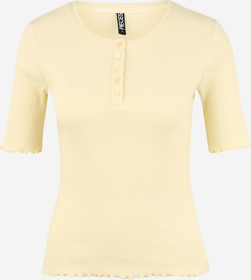 Pieces Petite Shirt 'LUCA' in Yellow