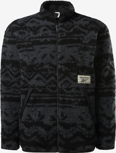 Reebok Classic Sweatshirt 'Winter Escape' in grau / schwarz, Produktansicht