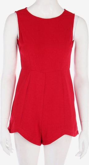 Forever 21 Playsuit in S in rot, Produktansicht