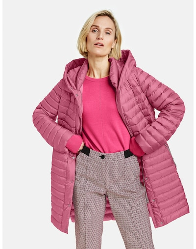 GERRY WEBER Steppmantel in pink, Modelansicht