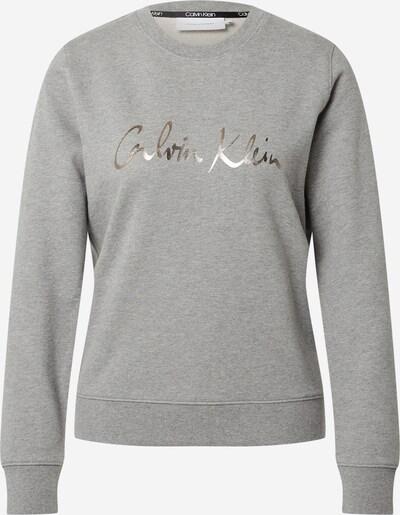 Calvin Klein Sweat-shirt en gris chiné / argent, Vue avec produit