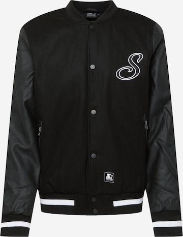 Starter Black Label Between-Season Jacket in Black