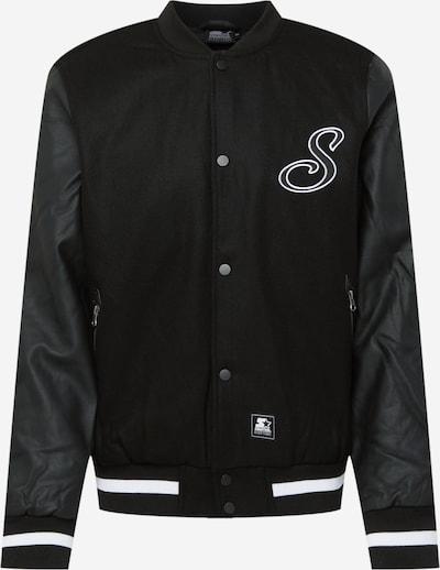 Starter Black Label Jacke in schwarz / weiß, Produktansicht