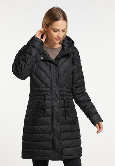 DreiMaster Klassik Mantel in schwarz, Modelansicht