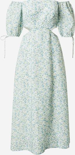Forever New Robe d'été en bleu clair / vert / blanc, Vue avec produit