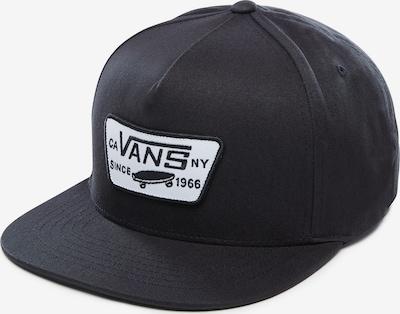 VANS FULL PATCH SNAPBACK in schwarz / weiß, Produktansicht