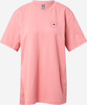 adidas by Stella McCartney Функционална тениска в розово