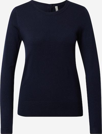 PULZ Jeans Pullover 'SARA' in dunkelblau, Produktansicht