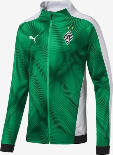 PUMA Jacke 'Borussia Mönchengladbach' in grün / limette / weiß, Produktansicht