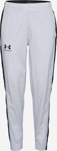 UNDER ARMOUR Sporthose in Grau